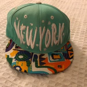 New York Snap Back Hat
